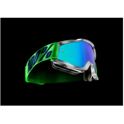 100% brýle ACCURI Nova mirror/green