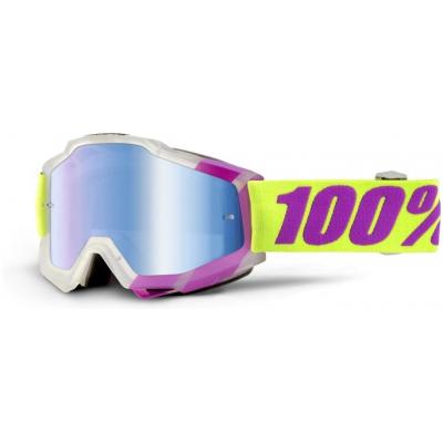 100% okuliare ACCURI Tootaloo mirror/blue