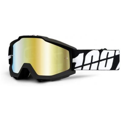 100% brýle ACCURI Tornado mirror/gold