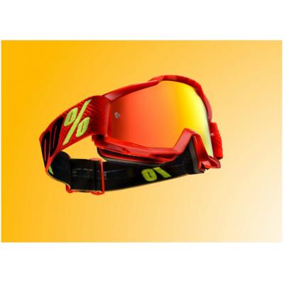 100% brýle ACCURI Saarinen mirror/red