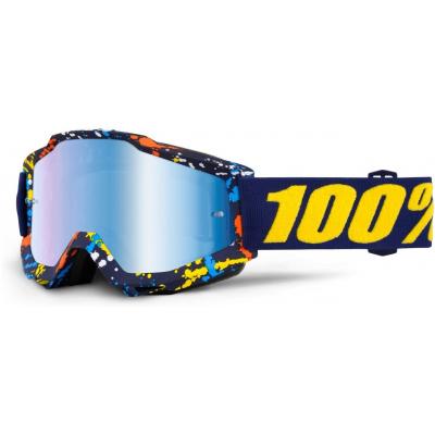 100% brýle ACCURI Pollock mirror/blue