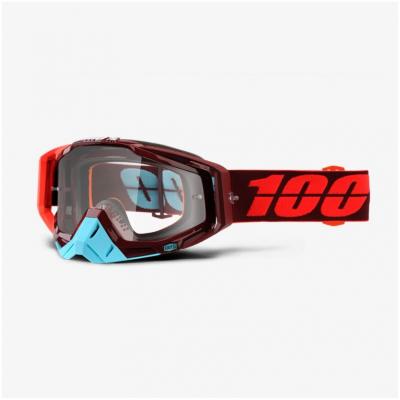 100% okuliare RACECRAFT Kikass clear