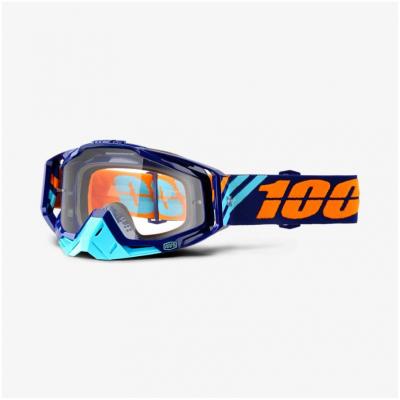 100% brýle RACECRAFT Calculus Navy mirror clear