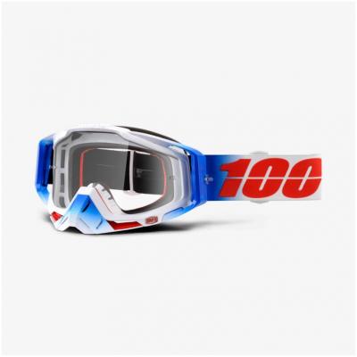 100% brýle RACECRAFT Fourth mirror clear