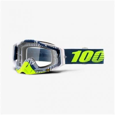 100% brýle RACECRAFT Eclipse clear