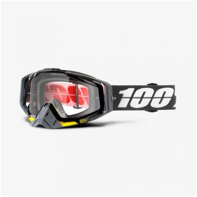 100% brýle RACECRAFT Fortis mirror clear