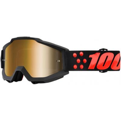 100% brýle ACCURI Gernica mirror gold