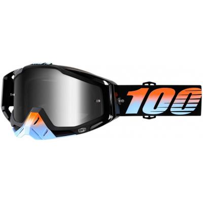 100% okuliare RACECRAFT Starlight mirror silver