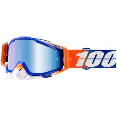 100% okuliare RACECRAFT Roxburry mirror blue