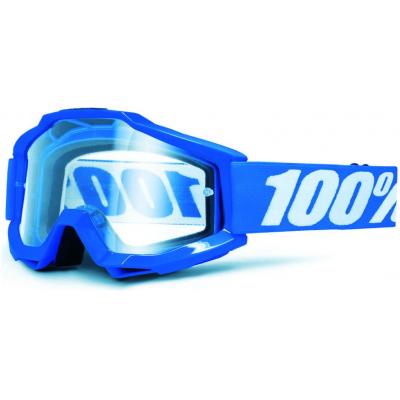 100% brýle ACCURI Reflex Blue clear