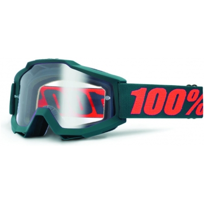 100% brýle ACCURI Gunmetal clear