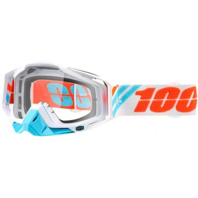 100% brýle RACECRAFT Calculus Ice clear
