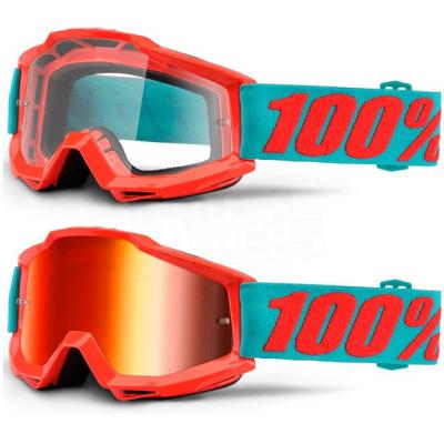 100% brýle ACCURI Passion mirror red
