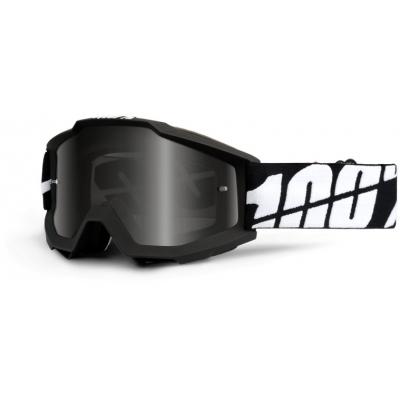 100% brýle ACCURI Sand Tornado black mirror black