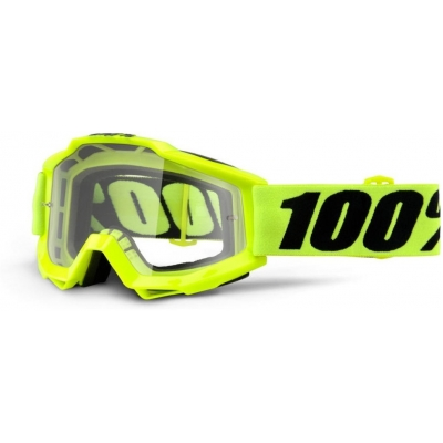 100% brýle ACCURI OTG Fluo Yellow clear
