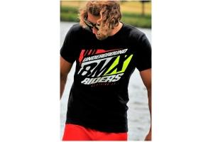 101 RIDERS tričko BMX FURY black
