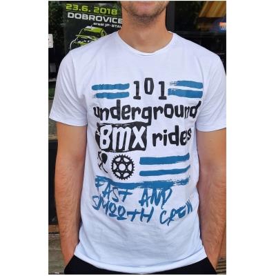 101 RIDERS triko BMX CREW white