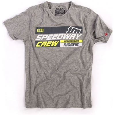 101 RIDERS tričko SPEED CREW grey