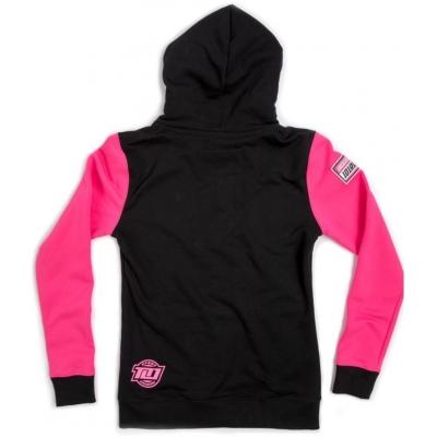 101 RIDERS mikina RIVAL dámská black/pink