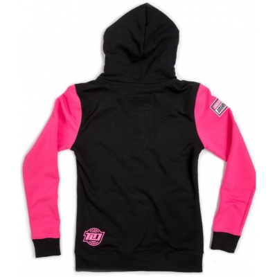 101 RIDERS mikina RIVAL dámska black / pink