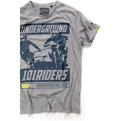 101 RIDERS triko SIDE grey