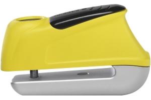 ABUS kotoučový zámek s alarmem 345 TRIGGER yellow