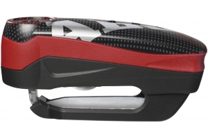 ABUS kotoučový zámek DETECTO 7000 RS1 Alarmový pixel red
