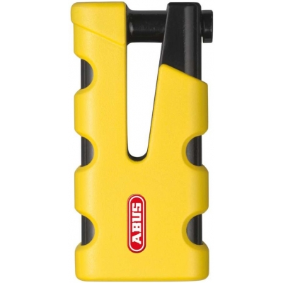 ABUS kotoučový zámek GRANIT SLEDG 77 Grip yellow