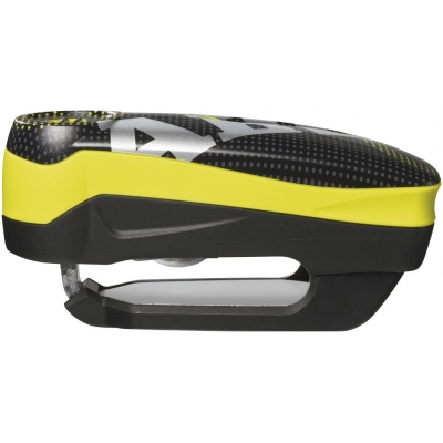ABUS kotúčový zámok s alarmom DETECTO 7000 RS1 Pixel yellow