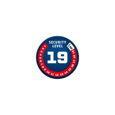 ABUS alarmový zámok GRANIT Detect 8077 / 12KS120
