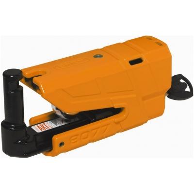 ABUS kotoučový zámek s alarmem GRANIT DETECTO X Plus 8077 orange