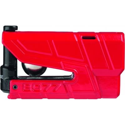 ABUS kotoučový zámek s alarmem GRANIT DETECTO X Plus 8077 red