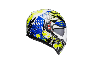 AGV přilba K-3 SV Pop blue/white/yellow