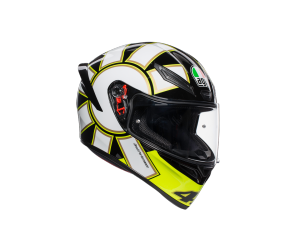AGV přilba K-1 Gothic 46 white/yellow/black
