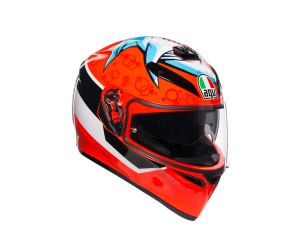 AGV prilba K-3 SV Attack red / white / black