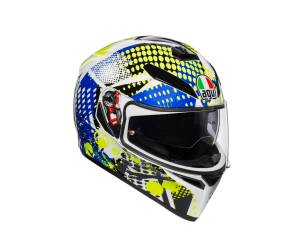 AGV prilba K-3 SV Pop blue / white / yellow