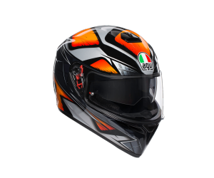 AGV přilba K-3 SV Liquefy black/orange