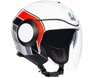 AGV přilba ORBYT Brera white/red