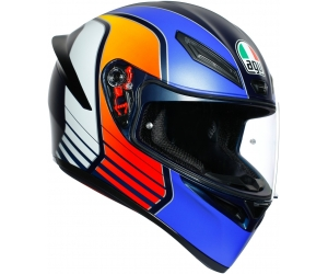 AGV přilba K-1 Power matt dark blue/white