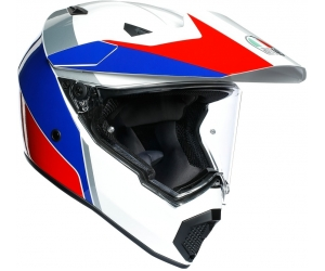 AGV přilba AX9 Atlante white/blue/red