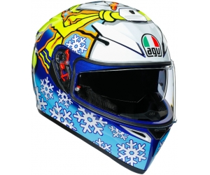 AGV přilba K-3 SV Rossi winter test 2016