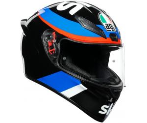 AGV přilba K-1 VR46 Sky Racing Team Replica black/red