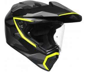 AGV prilba AX9 Siberia matt black / fluo yellow