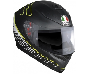 AGV přilba K-5 S Thorn 46 matt black/white/yellow