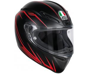 AGV přilba VELOCE S Predatore matt black/red