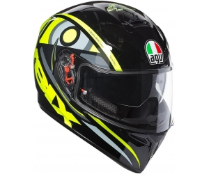 AGV přilba K-3 SV SOLUN 46 black/yellow