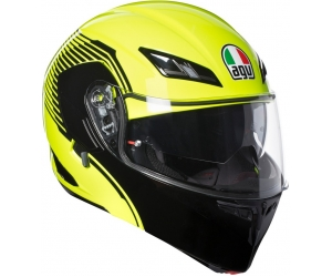 AGV prilba COMPACT ST Vermont yellow fluo / black