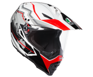 AGV přilba AX-8 DUAL EVO Earth black/red