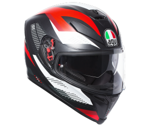 AGV přilba K-5 S Marble black/white/red