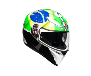AGV prilba K-3 SV MORBIDELLI 2017 Replica yellow/green